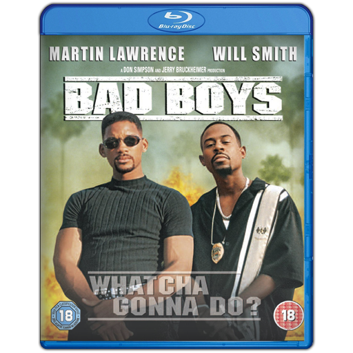 Bad Boys 1 Blu-ray Movie Case Icon By SmokeU On DeviantArt