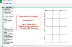 Character Arc Worksheet by illuminara