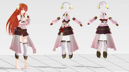 .: MMD GUST Kasumi outfit DL:.
