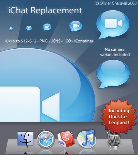 iChat Replacement by Sekkyumu