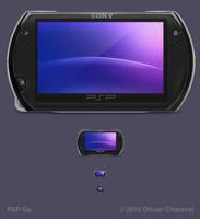 PSP Go by Sekkyumu