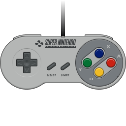 SNES controller icon by bokuwatensai on DeviantArt
