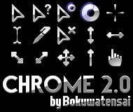 Chrome Cursors 2.0 by bokuwatensai