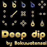 Deep Dip cursor set