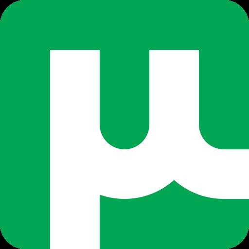 uTorrent Logo redesign by bokuwatensai