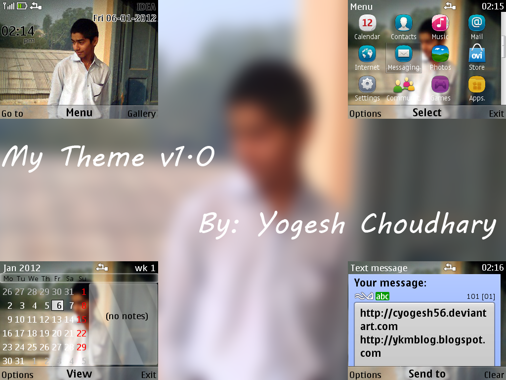 My Theme v1.0 by cyogesh56