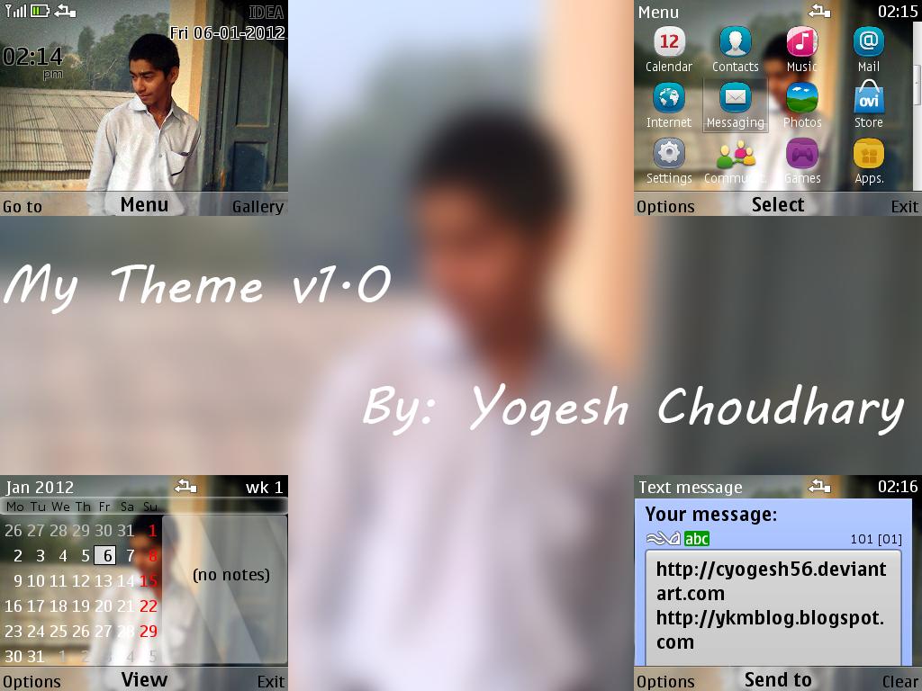 My Theme v1.0 by cyogesh56