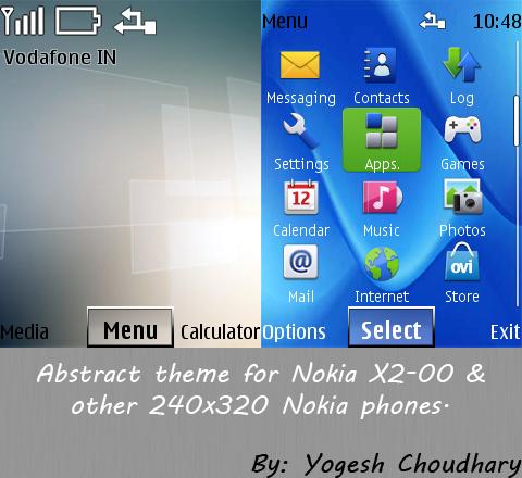 скачать темы Nokia X2 00 - фото 9