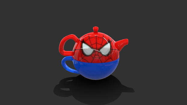 Spiderman Tea Set