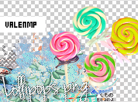 Lollipop PNG Pack by ValenMp