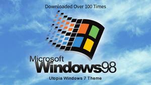 Windows 98 Plus! Utopia Theme For Windows 7