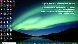 Royale Remixed Windows 10 Theme