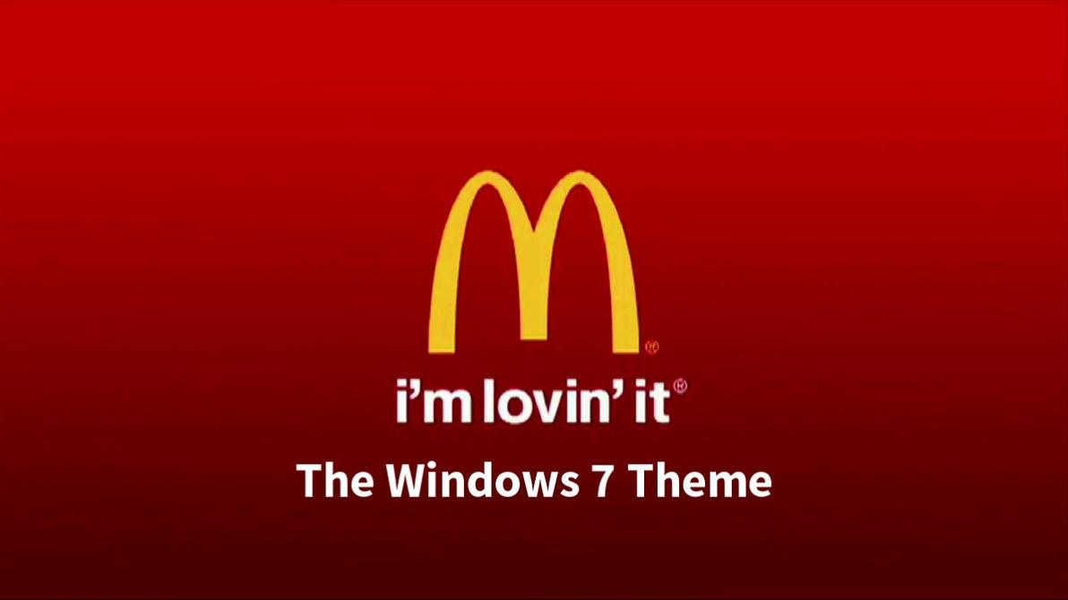 Mcdonald's Windows 7 Theme by nc3studios08