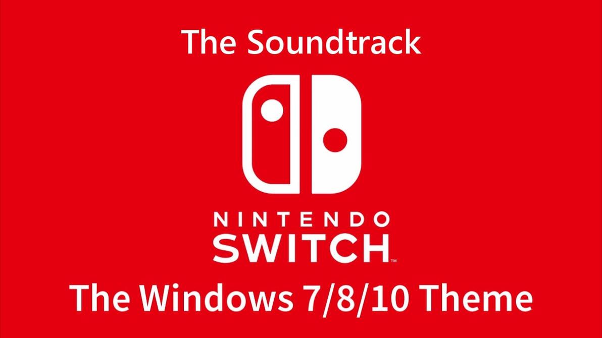 Nintendo Switch Windows 7/10 Soundpack by nc3studios08