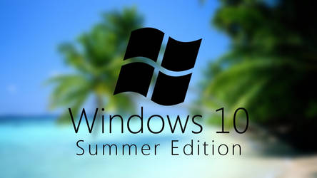Windows 10 Summer Edition by nc3studios08