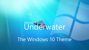 Microsoft Underwater Windows 10 Theme