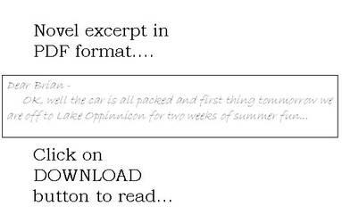 Arky - a novel excerpt