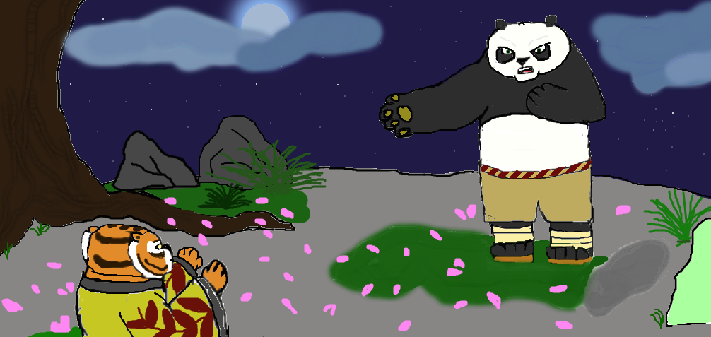 Tigress And Po Hug 1000 Images About Kung Fu Panda On Pinterest