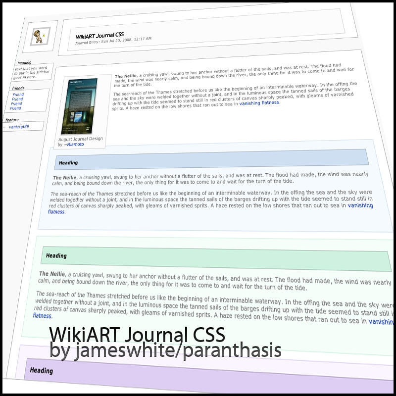 WikiART CSS by paranthasis