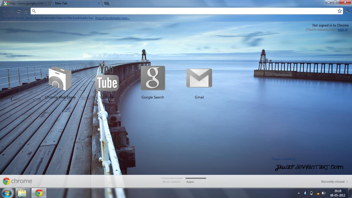 Google themes blue - Tranquility Google Chrome Theme By Jawzf Tranquility Google Chrome Theme By Jawzf