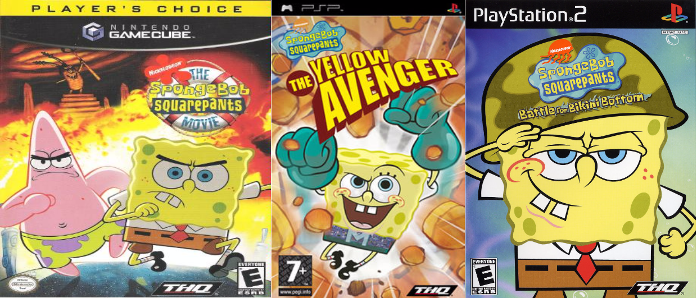Spongebob squarepants video games