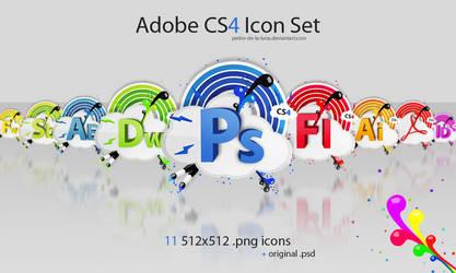 Adobe CS4 icon set