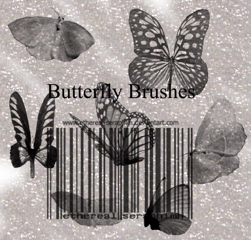 Butterfly Brushes by Ethereal-Seraphim on DeviantArt