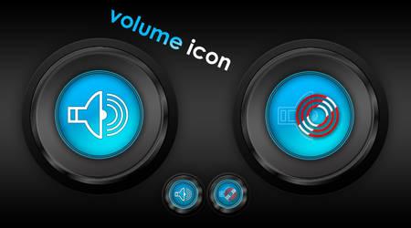 Sleek Volume Icon