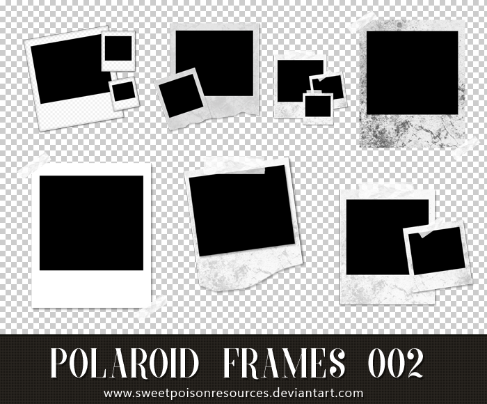 Polaroid Frames Png 002 By Sweetpoisonresources On Deviantart