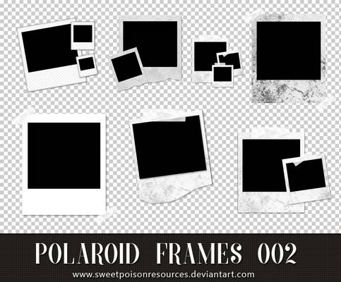 Polaroid Frames - PNG 002