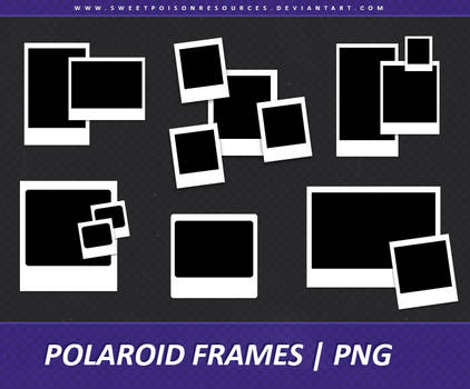 Polaroid Frames - PNG 003