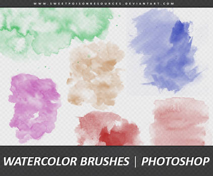 Watercolor Brushes | Photoshop