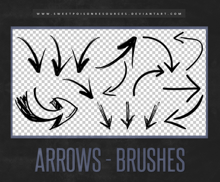 Arrows - Brushes