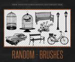 Random Brushes | Photoshop