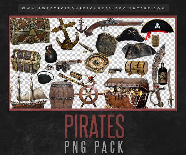 Pirates Png Pack