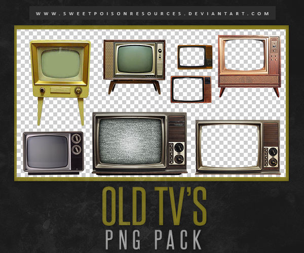 Old Tv S Png By Sweetpoisonresources On Deviantart