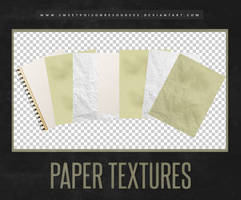 Paper Textures by sweetpoisonresources
