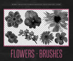 Flowers Brushes | Photoshop