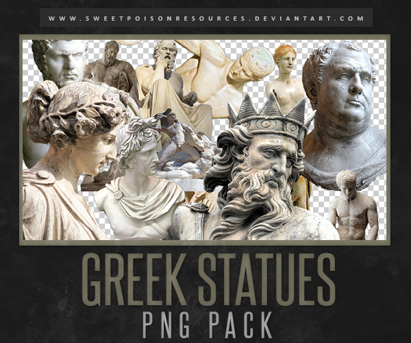 Greek Statues Png By Sweetpoisonresources On Deviantart