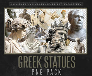 Greek Statues | PNG by sweetpoisonresources