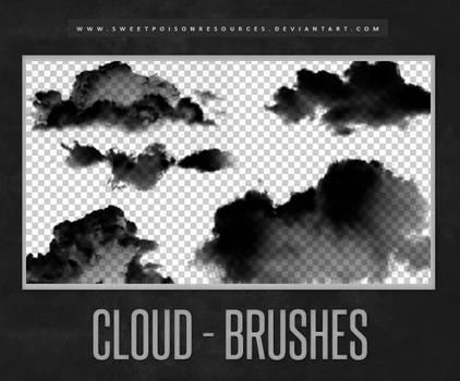 Cloud Brushes | Photoshop by sweetpoisonresources