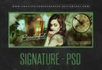 Signature - PSD