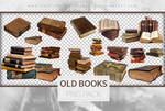 Old Books - Png Pack