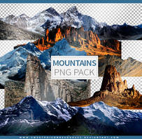 Mountains | Png Pack by sweetpoisonresources