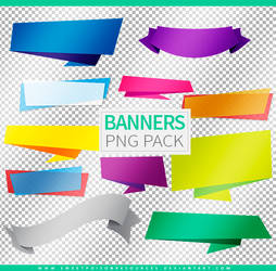 Banners | Png Pack by sweetpoisonresources