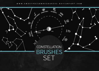 Constellation Brushes | Photoshop by sweetpoisonresources