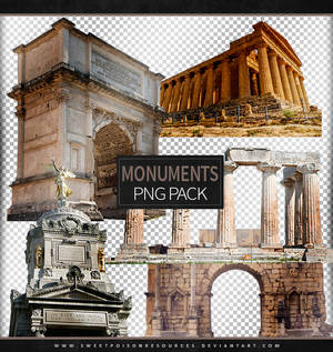 Monuments   Png Pack