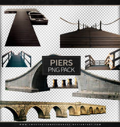 Piers and Bridges | Png Pack