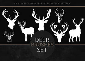 Deer Brushes | Photoshop