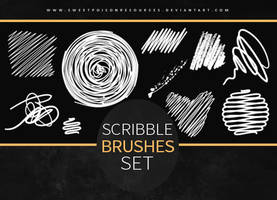 Scribble Brushes | Photoshop